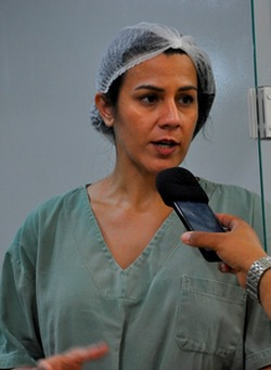 Dra. Maria Helena Costa Vieira, ortopedista, médica efetiva do município explicou como são conduzidos os casos de cirurgia ortopédica em Ribas.