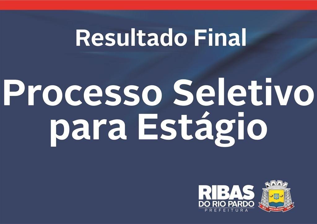 Prefeitura de Ribas divulga resultado final do processo seletivo ... 1ce1b705d89a6