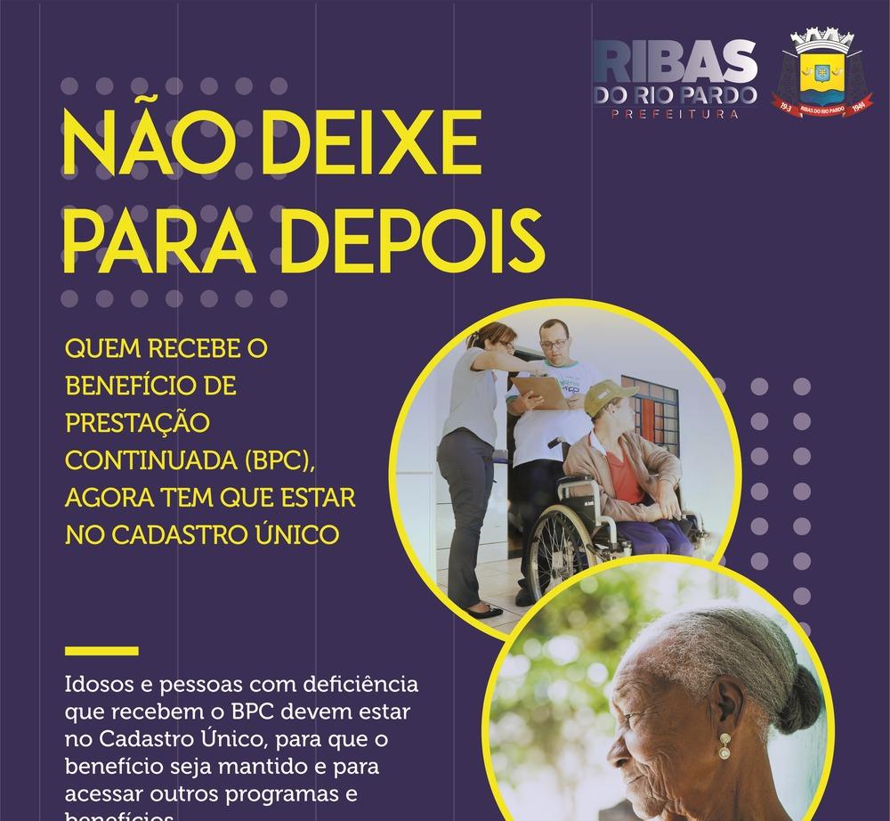 Idosos e pessoas com deficiência deverão realizar o Recadastramento ... 743440d589