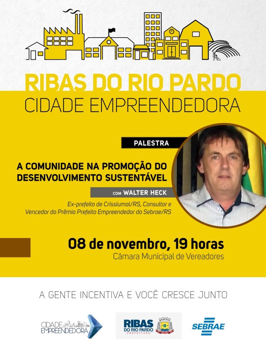 Nesta Quinta-Feira (08), Ribas fará a apresentação do Cidade ... 0e91c4756a