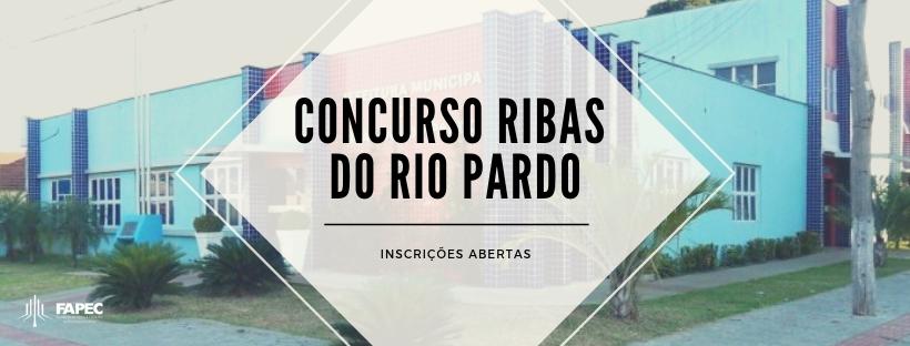 e4adee209 Abertas inscrições para o Concurso da Prefeitura de Ribas do Rio ...
